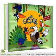 کتاب بخون و بچین کوچولو 4 (پرندگان) - کتاب پازلی از نشر آریا نوین